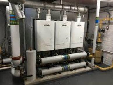 Commercial as back up within Biomass Plant Room